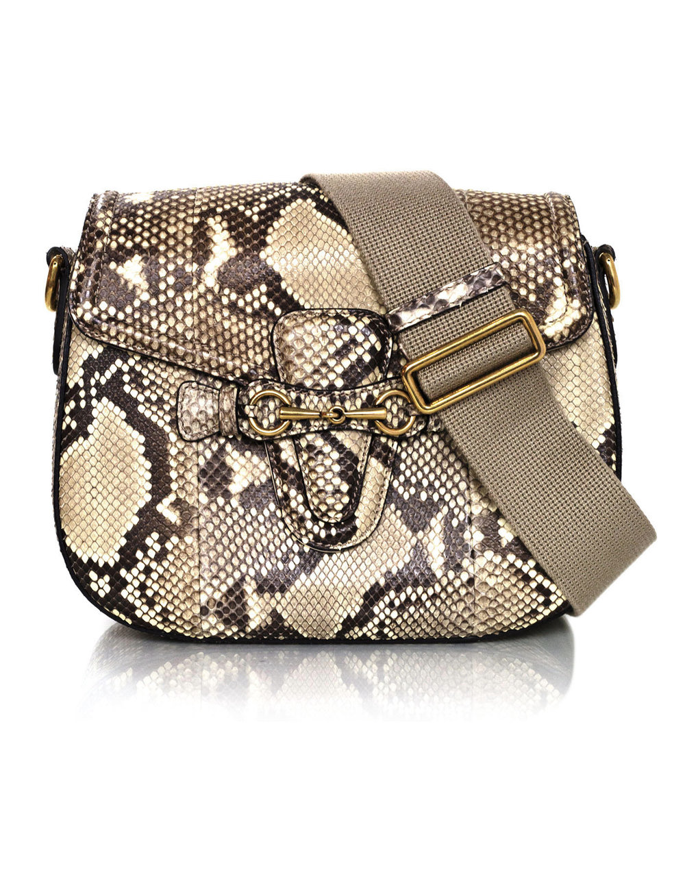 GUCCI python lady web messengr bag extra strap