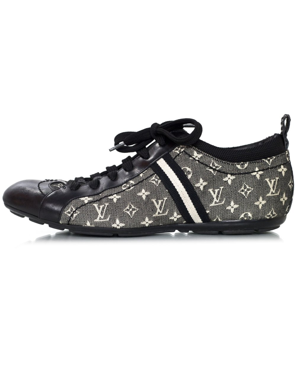 LV black white monogram mini lin tennis shoes 100-11350 5.jpg
