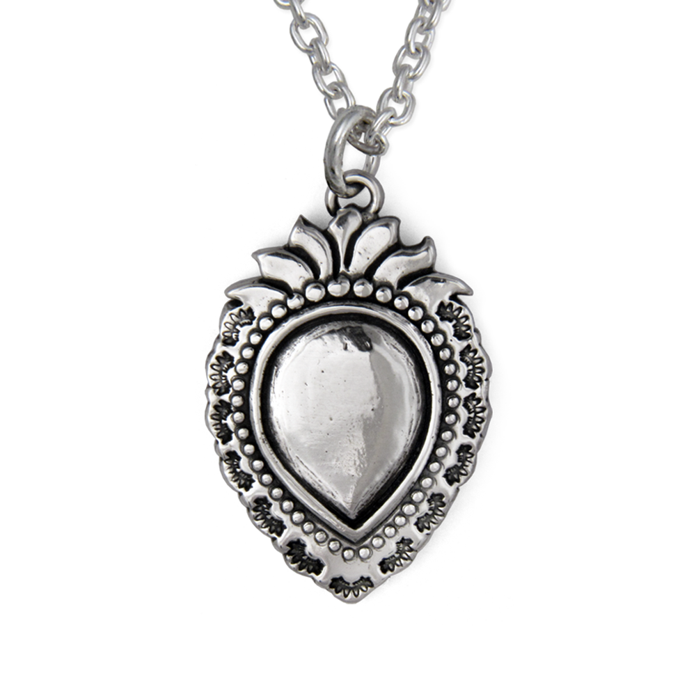 Carlos Santana- Milagro Pendant- Sterling Silver- By Pennyroyal Jewelry
