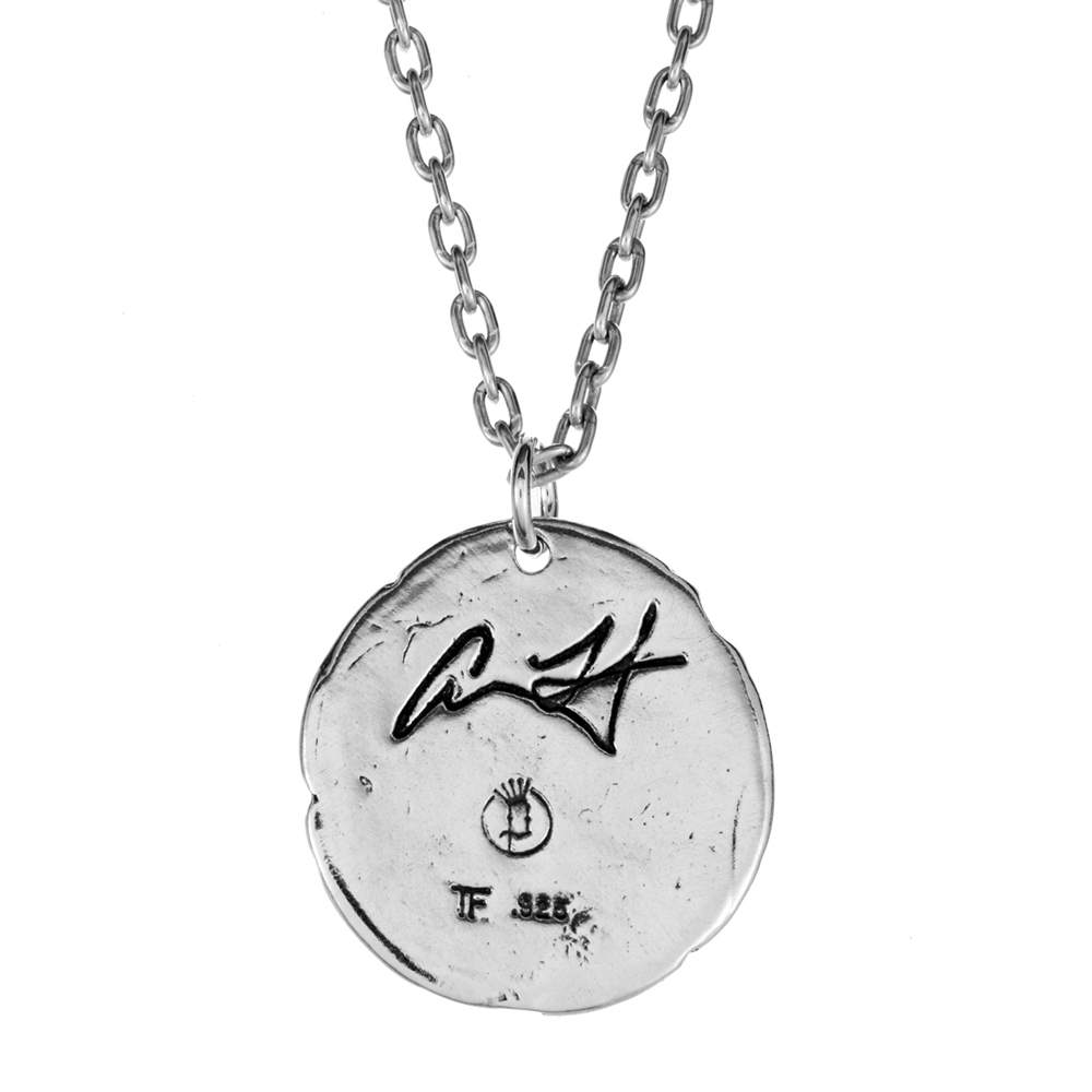Adam Lambert- Infinity Pendant- Sterling Silver- by Pennyroyal Jewelry
