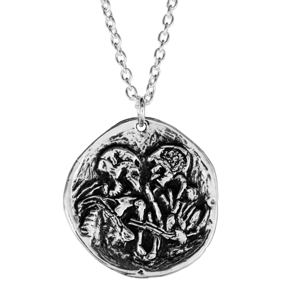 Eternal Embrace- Sterling Silver- by Pennyroyal Jewelry