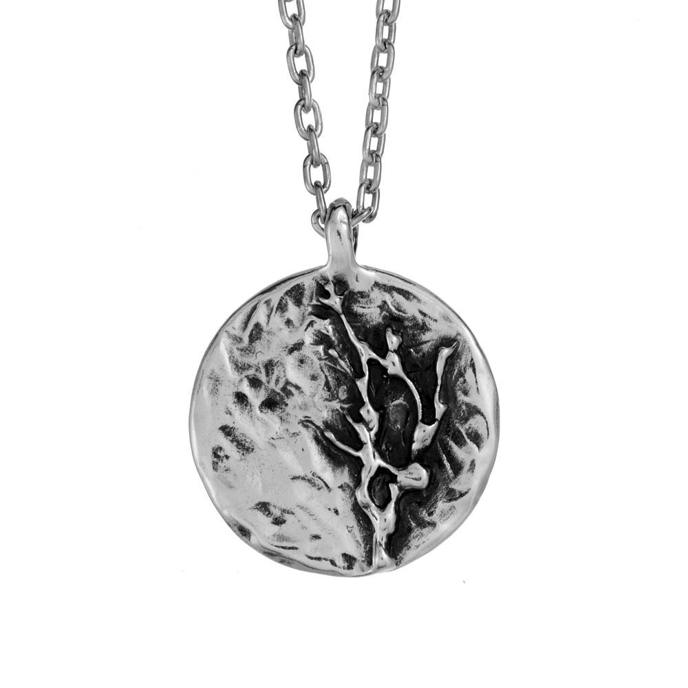 Branch Pendant- Sterling Silver - By Pennyroyal Jewelry
