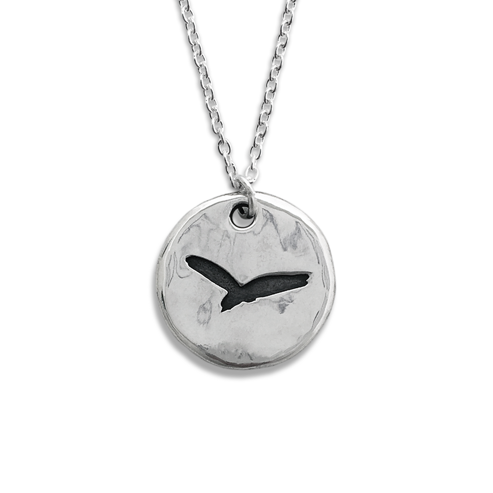 Paul McCartney- Blackbird Necklace- Sterling Silver- By Pennyroyal Jewelry