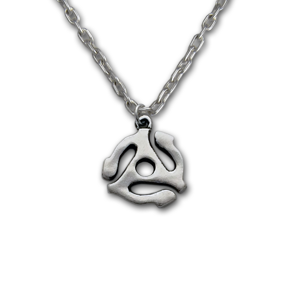 Sm 45 Adapter Pendant- Sterling Silver- by Pennyroyal Jewelry