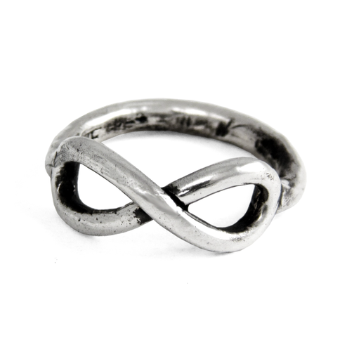 Infinity Ring- Sterling Silver- by Pennyroyal Jewelry