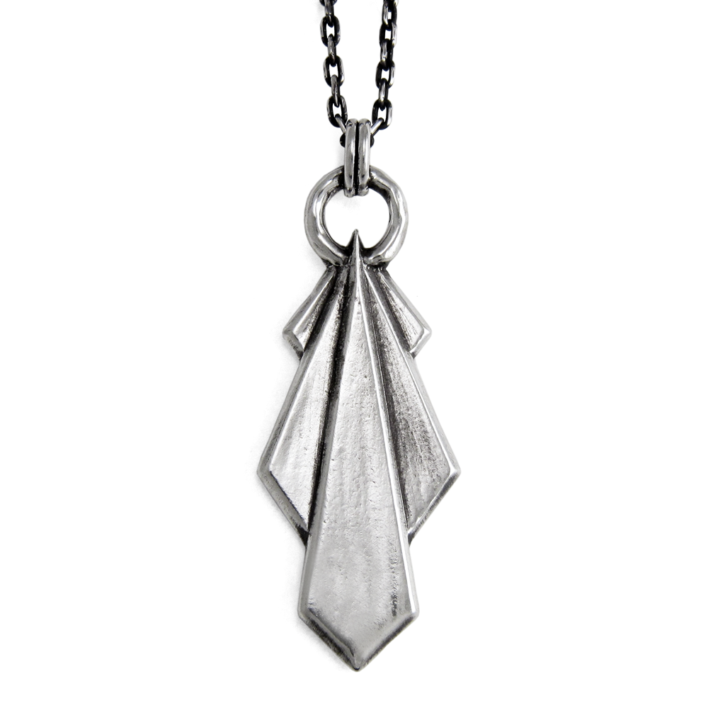 Paramount Pendant- Sterling Silver- Empire Collection- by Pennyroyal Jewelry