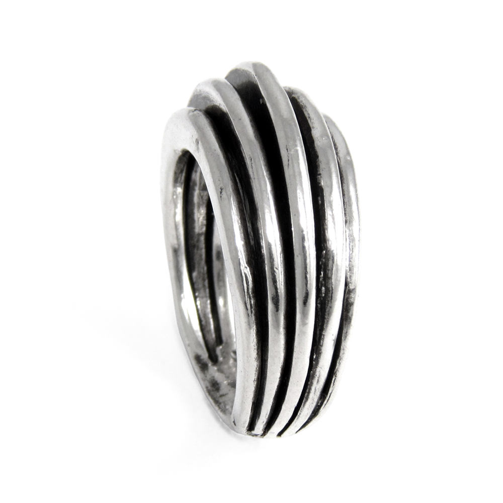 Empire Ring- Sterling Silver- Empire Collection- by Pennyroyal Jewelry