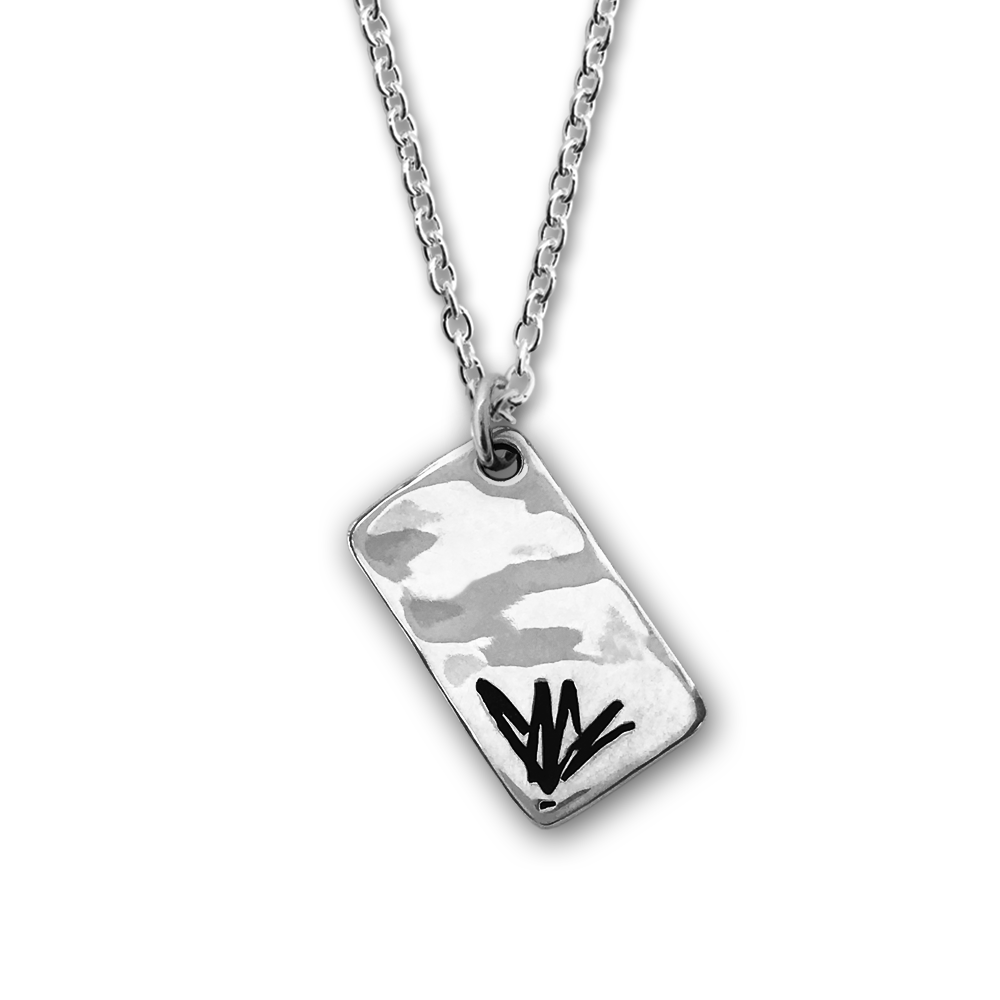 Chris Cornell- Sterling Silver Necklace- by Pennyroyal Jewelry
