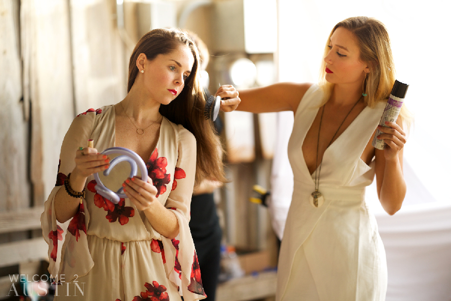 Behind the Scenes: Spring Fashion 2016