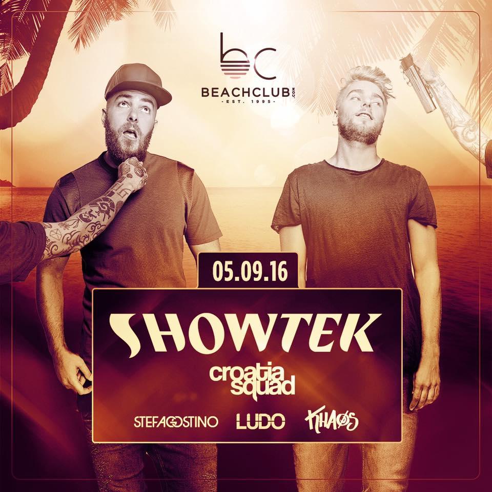 Beachclub Finale w/ SHOWTEK & BORGEOUS