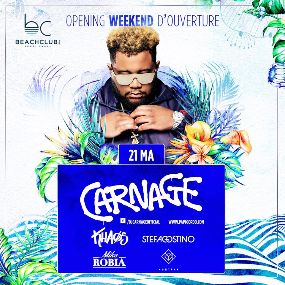 KICKING OFF THE SUMMER @ BEACHCLUB WITH CARNAGE