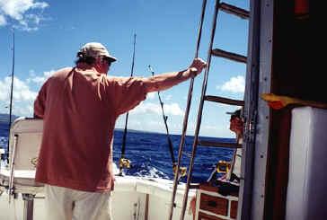 Kauai sportfishing charter boat Grander