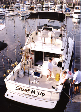 Hawaii fishing charter in Maui, Hawaii