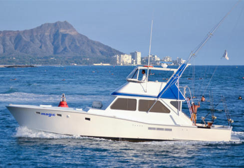 Hawaii fishing charter boat Magic