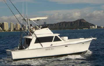 Hawaii fishing charter boat Wild Bunch
