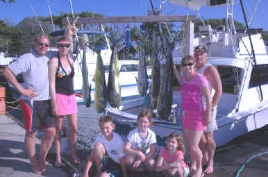 Oahu fishing charter catch