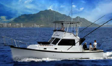 Hawaii fishing charter boat Sashimi I