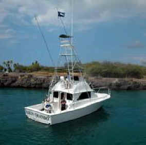 Hawaii fishing charter in Kona, Hawaii