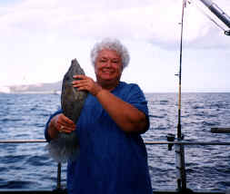 Hawaii near shore bottom fishing catch