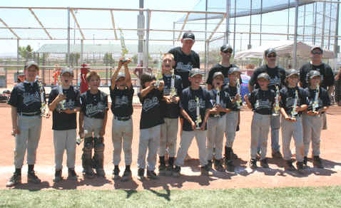 Sportfish Hawaii Minor A Marlins League Champions!
