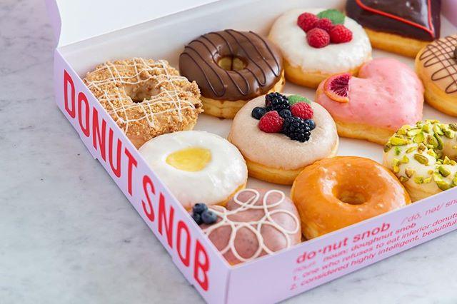 Monday starter kit 101 . . . . 🍩 Standard Snob Variety Box 📷 @taylorbescobyphoto #donuts #doughnuts #idonutcare #instadaily #treatyoself #food #yum #instayum #laeats #dinela #birthday #weekendeats #la #donutsnob #love  #buzzfeast #beautiful #butfirstcoffee #nomnomnom #la #goals #instagood #photooftheday #foodstagram
