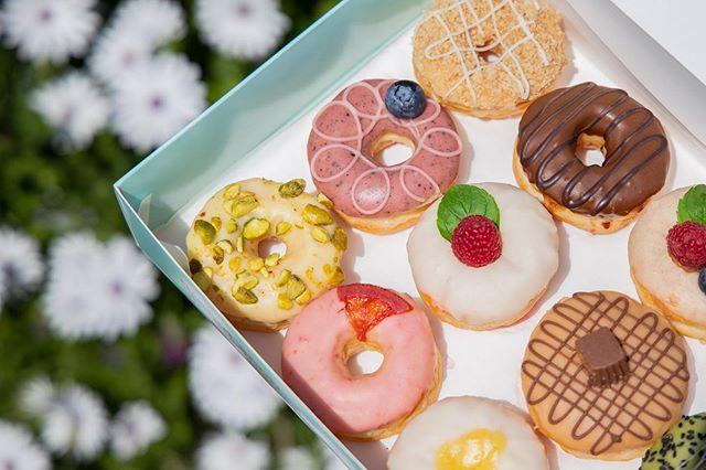 If you had to choose between donuts and being skinny, which flavor donut would you choose?😆 . . . . 🍩 One Dozen Mini Snob Variety Box #donuts #doughnuts #idonutcare #instadaily #treatyoself #food #yum #instayum #laeats #dinela #birthday #weekendeats #la #donutsnob #love  #buzzfeast #beautiful #butfirstcoffee #nomnomnom #mondaymotivation #la #goals #instagood #photooftheday #foodstagram