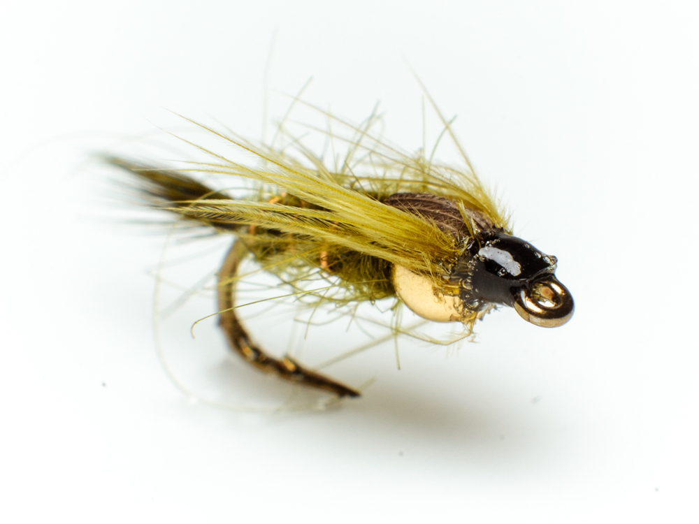 Bead head olive nymph – wet fly