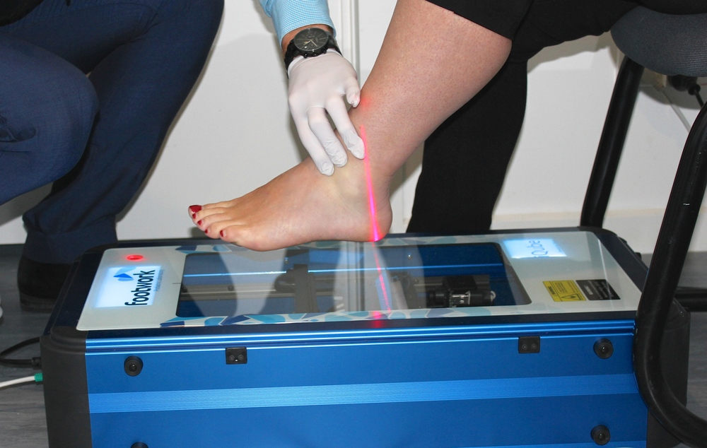 Foot scan orthotics Highett Podiatry