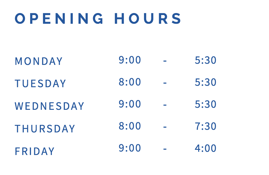 Highett Podiatry opening hours