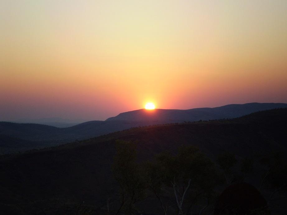 #The soul touching Mt Vigors sunset.JPG