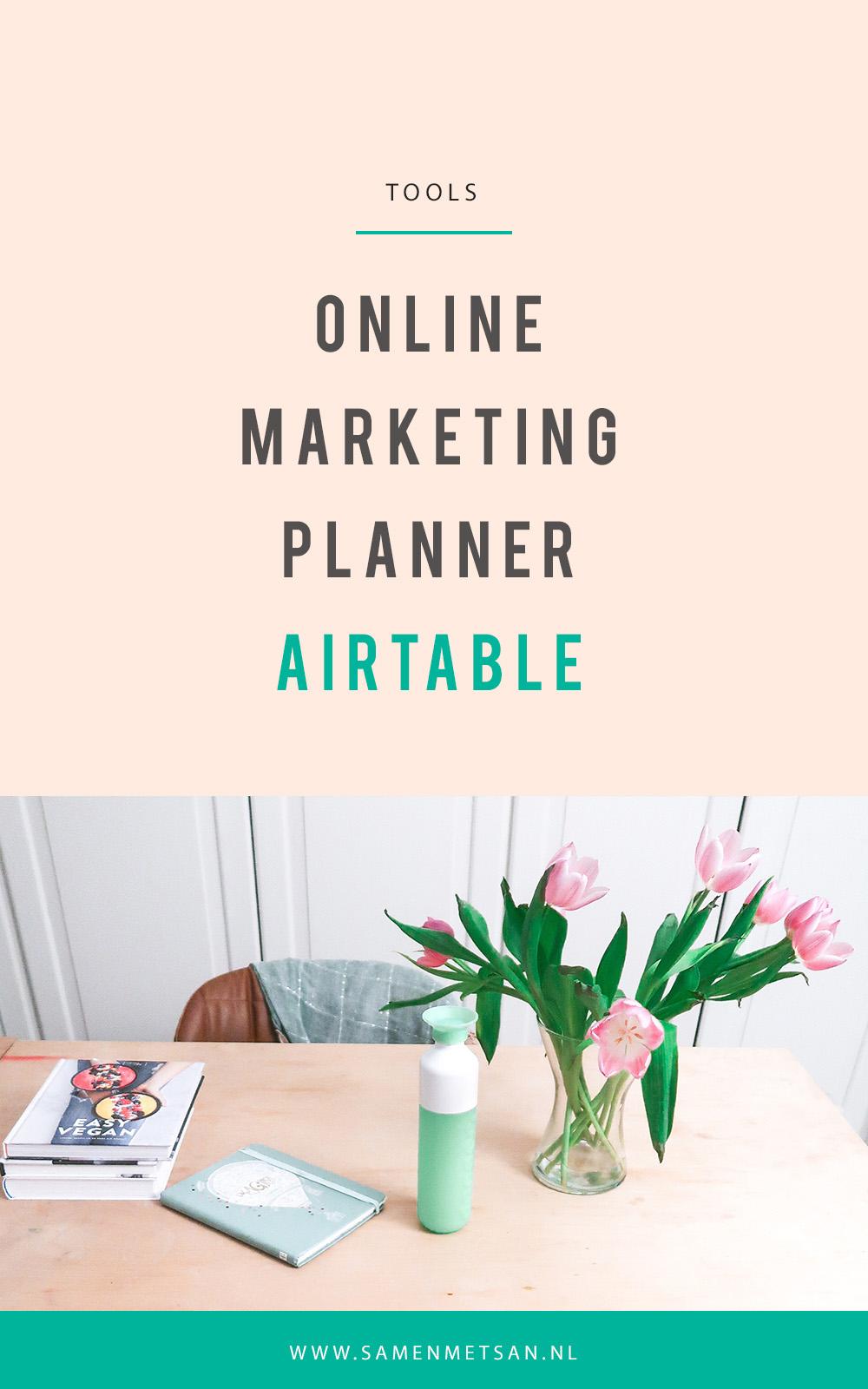 Airtable template marketing kalender