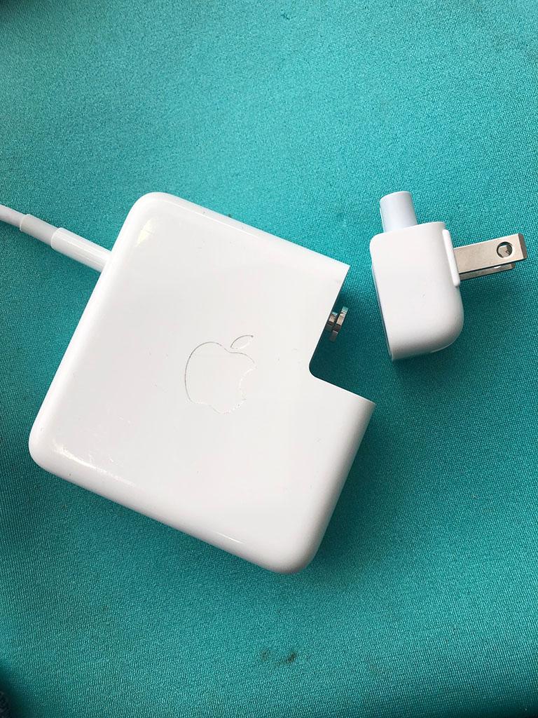 Los US-stekkertje voor je MacBook oplader