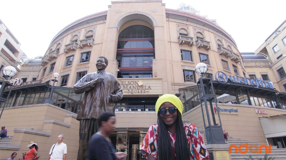 One of the most Photographed spots in Jozi, make sure you stop by to say hi to Madiba at Nelson Mandela Square in Sandton!