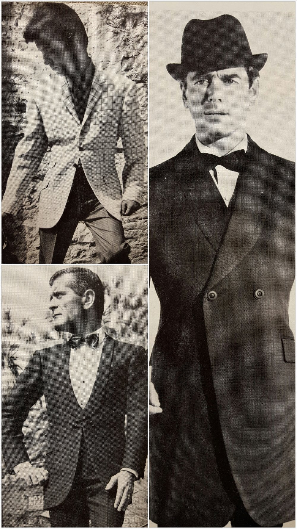 A couple of examples of the garments being featured in this issue. A mixture of contemporary and experimental examples.