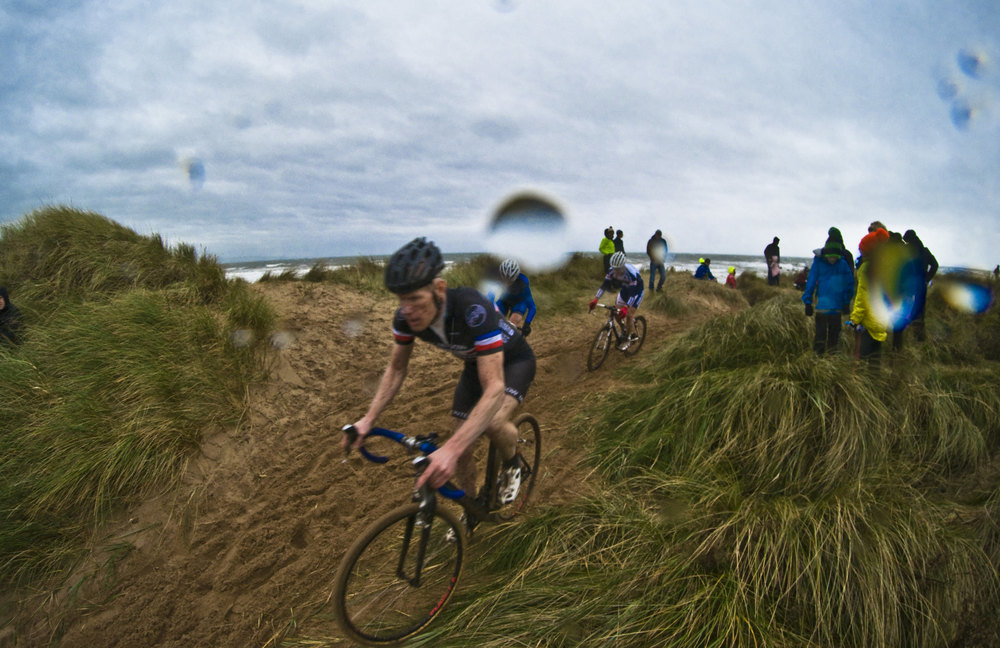Irvine Beach - venue for the 2015 Scottish CX Championships in November. Photo by  Anothony Robson
