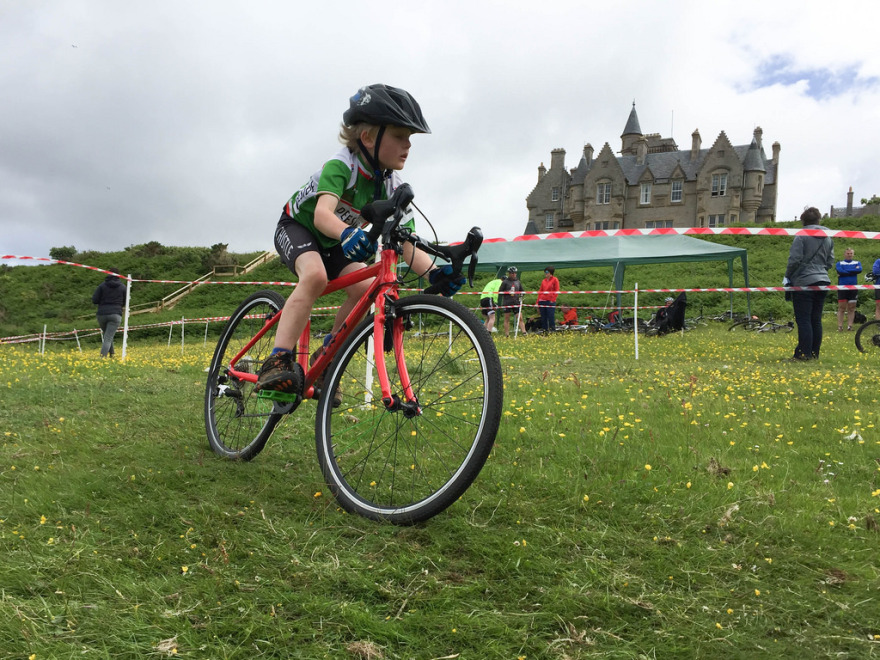 Not just a winter sport...Racing at SocialCross, Glengorm Castle, Isle of Mull this summer.