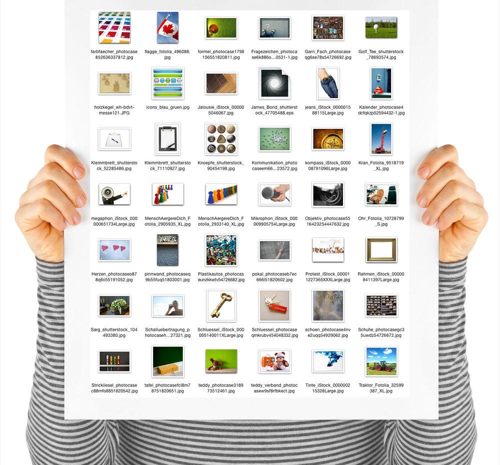 hier ein blick in mein Bildarchiv. Alle bilder enthalten eine information zum bildinhalt, zur Bilddtenbank und die jeweilige Bildnummer.
