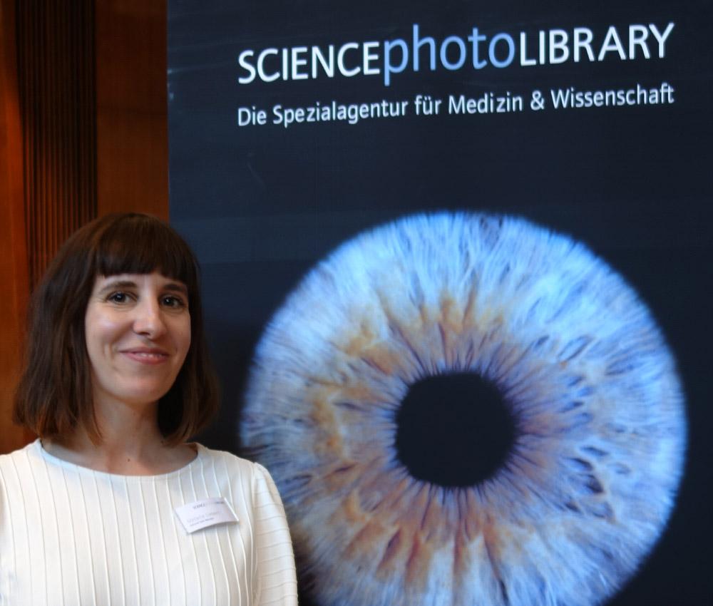 Melanie Liebert von der Spezialagentur SCIENCEphotoLIBRARY aus München