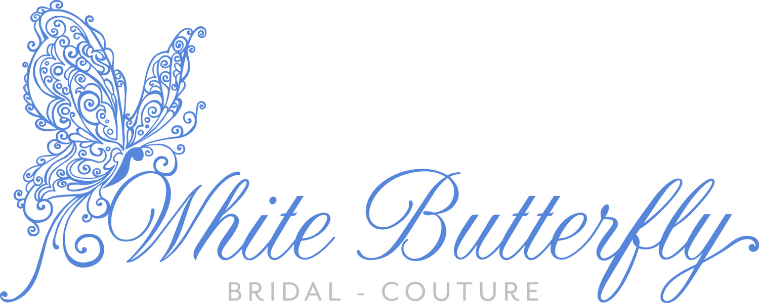 White Butterfly Bridal Couture