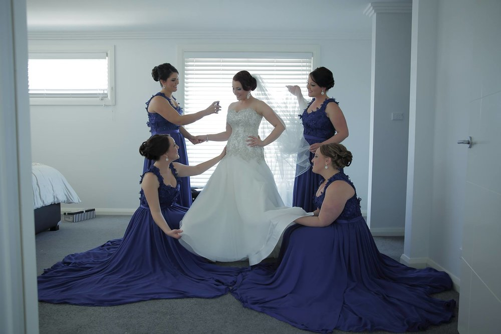 Antoinette Gravante bridesmaid dresses