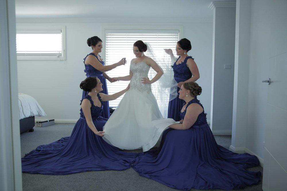 Antoinette Gravante bridesmaid dresses