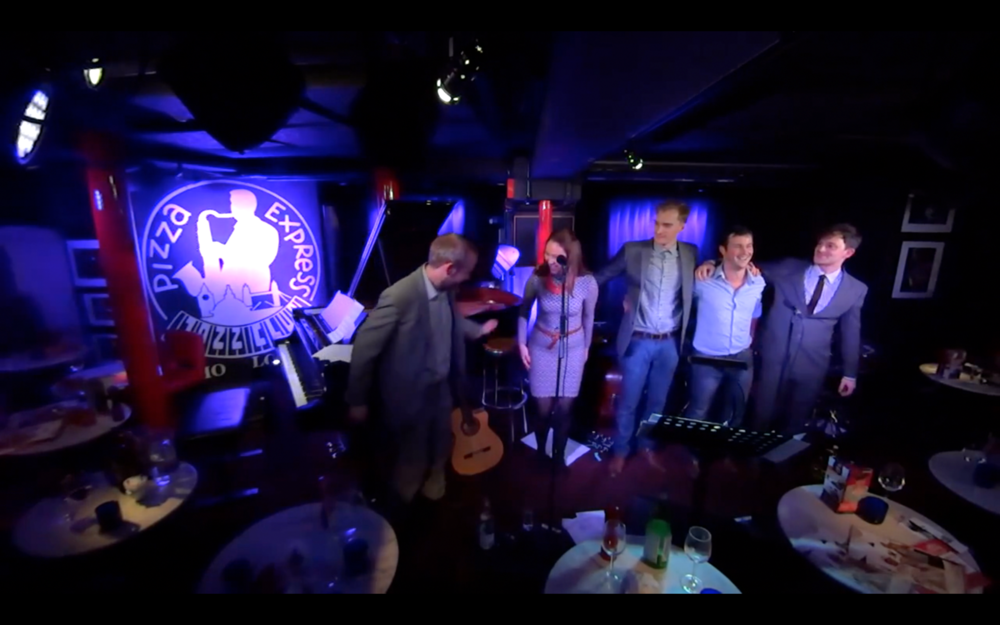 London Jazz Festival 2014 with Moonlight Saving Time at The Pizza Express Jazz Club, Soho