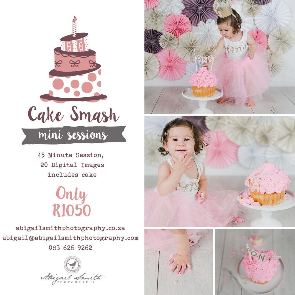 1 year old studio cake smash