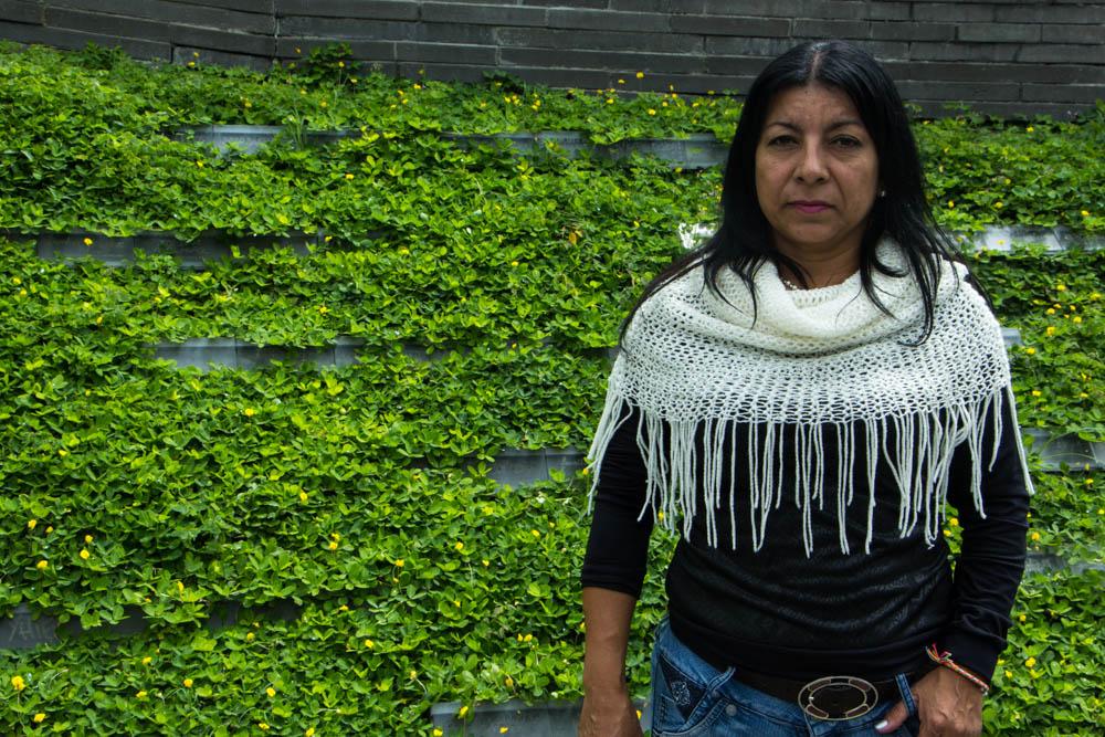 Luz Elena Galeano//Foto por Jessica Diaz-Hurtado