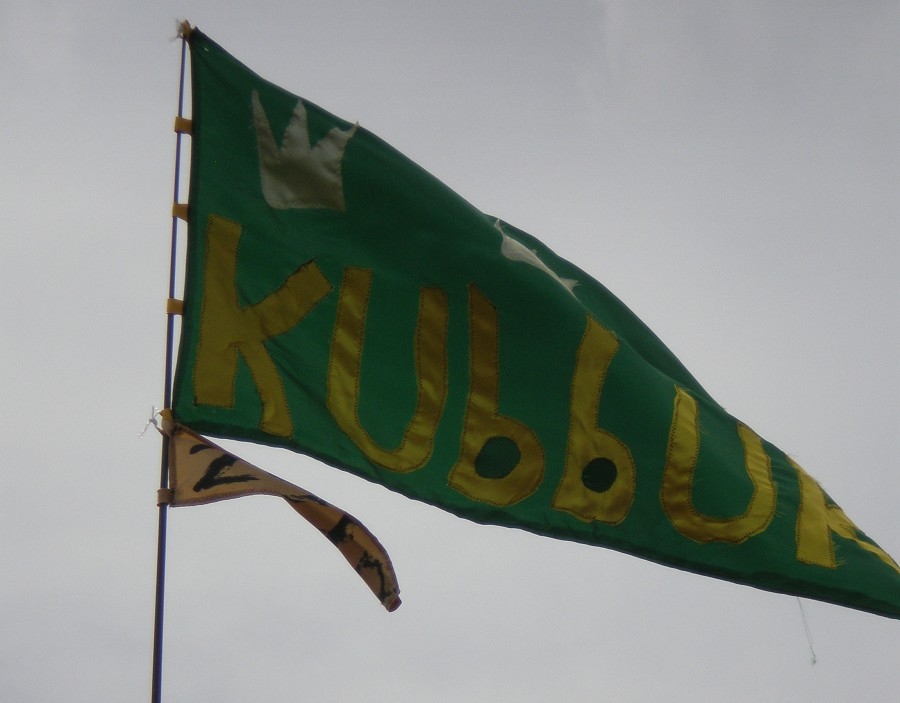 The new KubbUK flag - not available in stores throughout the world.