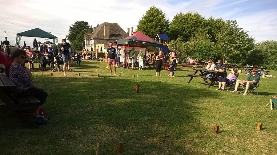 Black Rebel Motorcycle Kubb (South) winning the 2015 Final