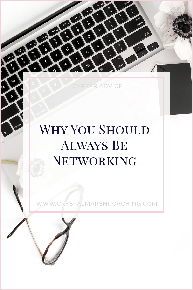 Why you should always be networking