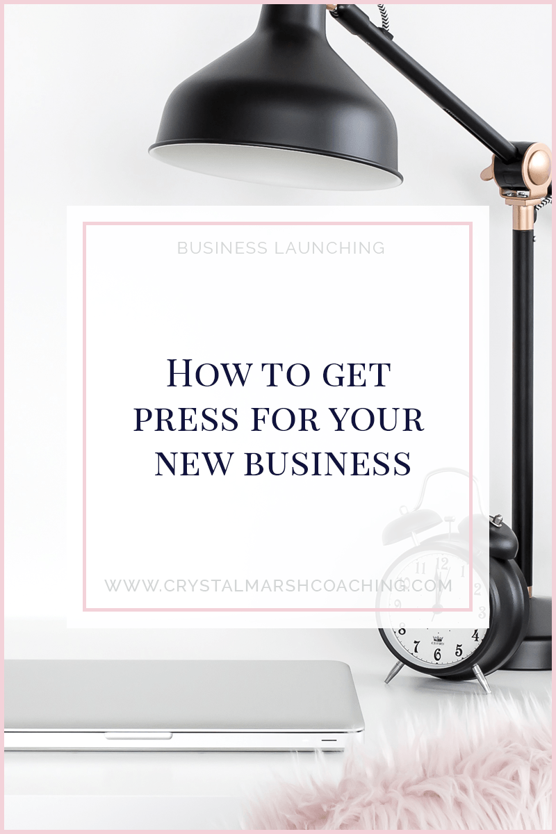 How to get press for your new business