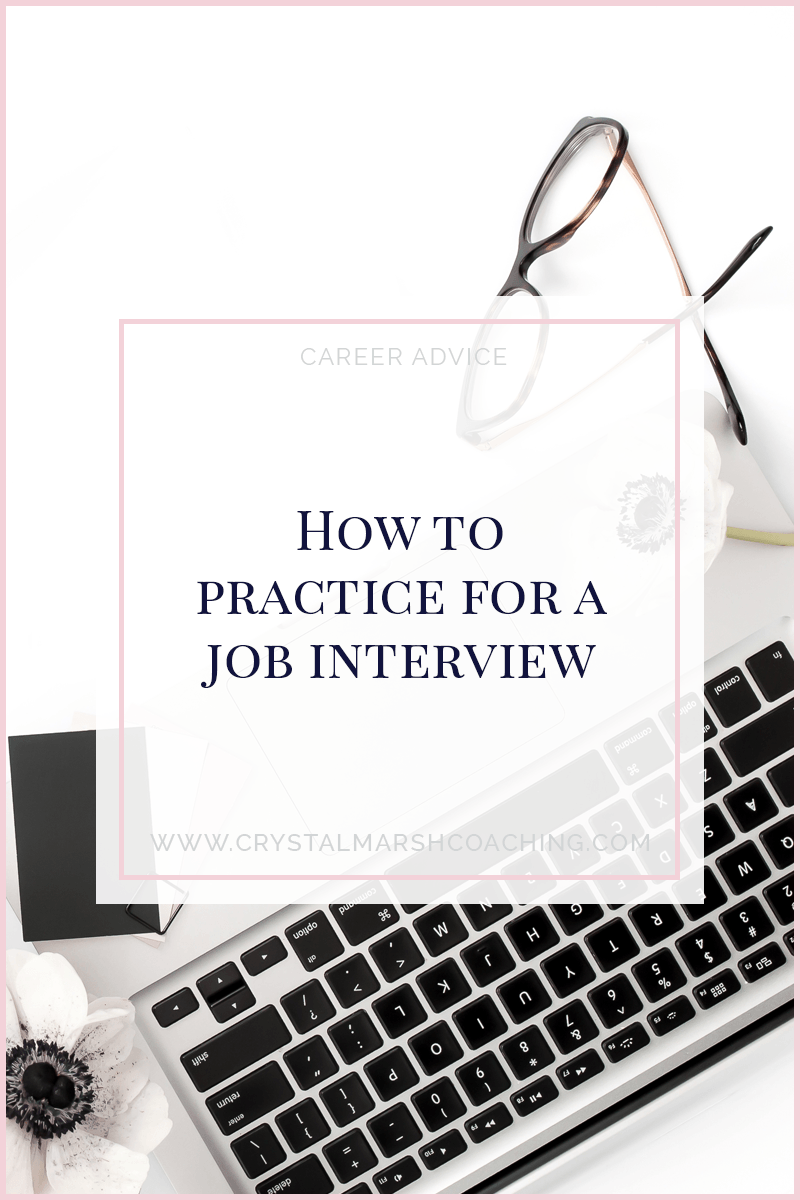 How to practice for a job interview