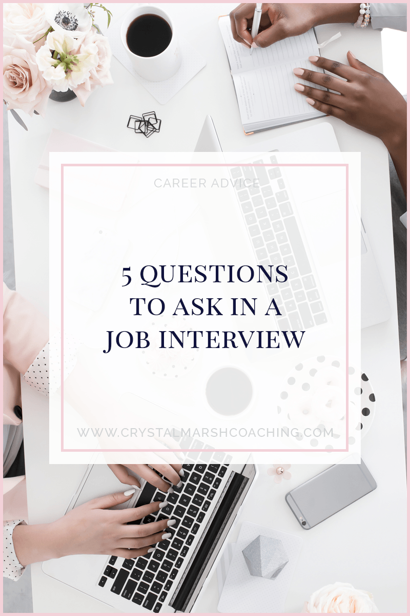 5 questions to ask in a job interview